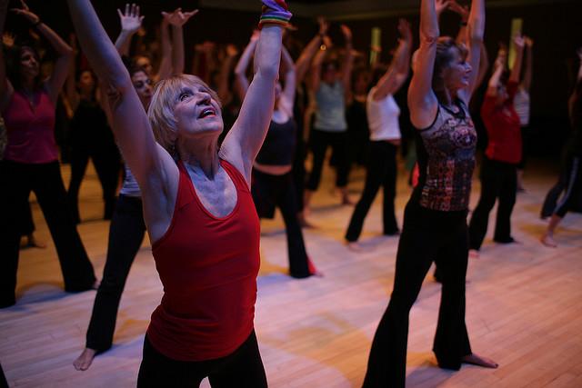 Nia classes at Nia HQ, Portland, Oregon, USA